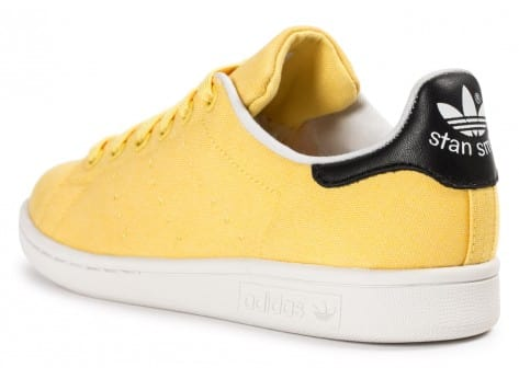 Chaussures adidas Stan Smith W Spring Yellow BBQ vue avant