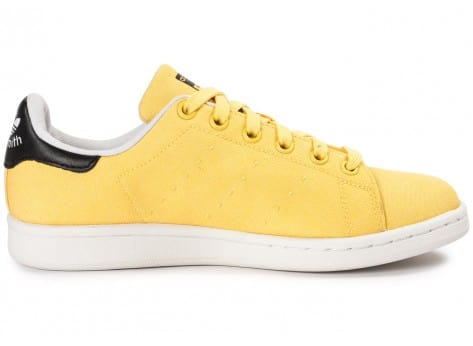 Chaussures adidas Stan Smith W Spring Yellow BBQ vue dessous