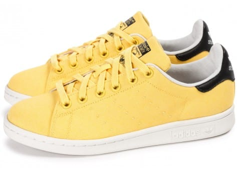 Chaussures adidas Stan Smith W Spring Yellow BBQ vue extérieure