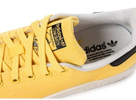 Chaussures adidas Stan Smith W Spring Yellow BBQ vue dessus