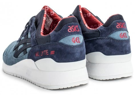 Chaussures Asics Gel Lyte III Christmas Pack bleue vue dessous