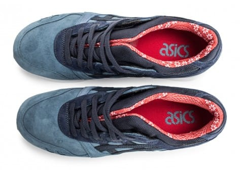 Chaussures Asics Gel Lyte III Christmas Pack bleue vue arrière