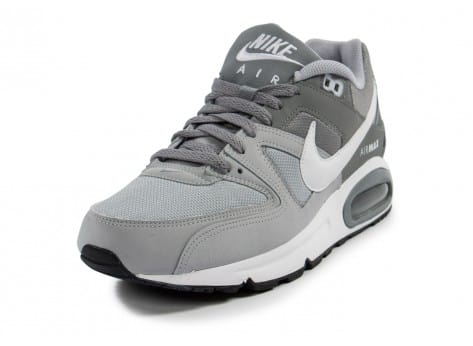 Chaussures Nike Air Max Command grise vue avant