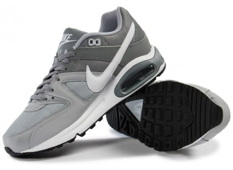 Chaussures Nike Air Max Command grise vue intérieure