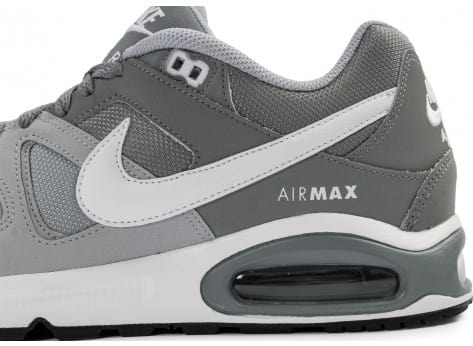 Chaussures Nike Air Max Command grise vue dessus
