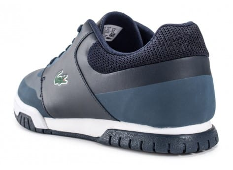 Chaussures Lacoste Indiana Evo bleu marine vue arrière
