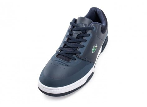 Chaussures Lacoste Indiana Evo bleu marine vue avant