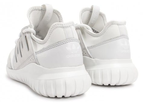 Chaussures adidas Tubular Radial blanche vue dessous
