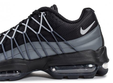 Chaussures Nike Air Max 95 Ultra Se noire vue dessus