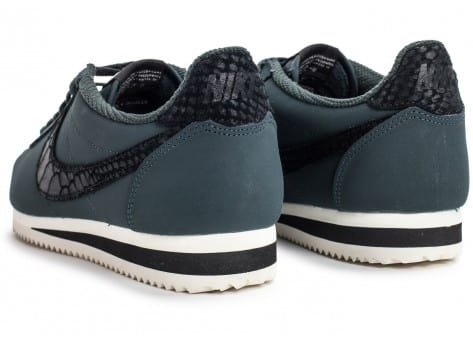 Chaussures Nike Cortez Leather SE seaweed vue dessus