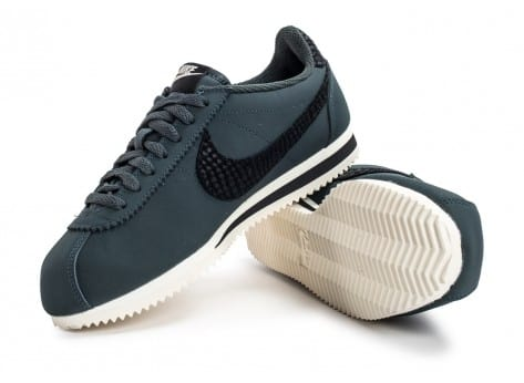 Chaussures Nike Cortez Leather SE seaweed vue avant