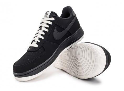 Chaussures Nike Air Force 1 Low Black sail vue avant