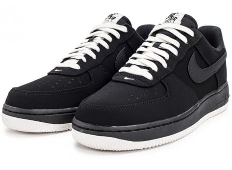 Chaussures Nike Air Force 1 Low Black sail vue intérieure