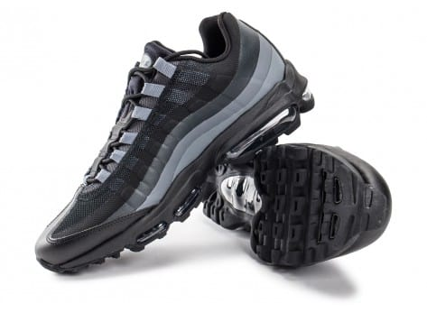 Chaussures Nike Air Max 95 Ultra Essential noire vue intérieure
