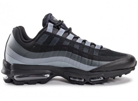 Chaussures Nike Air Max 95 Ultra Essential noire vue dessous