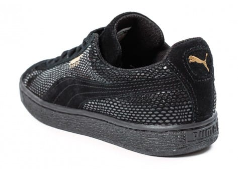 Chaussures Puma Suede Classic GOLD Future is Female vue arrière