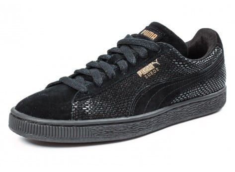 Chaussures Puma Suede Classic GOLD Future is Female vue avant