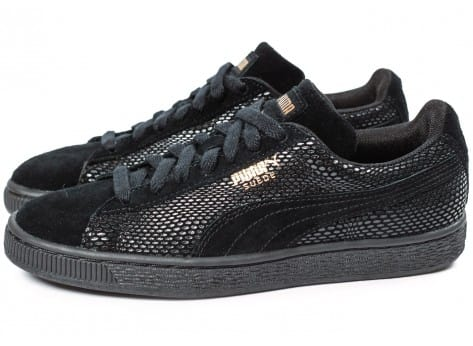 Chaussures Puma Suede Classic GOLD Future is Female vue extérieure