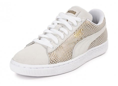 Chaussures Puma Suede Classic Gold vue avant