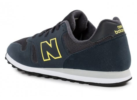 Chaussures New Balance MD373 NY bleu marine vue arrière