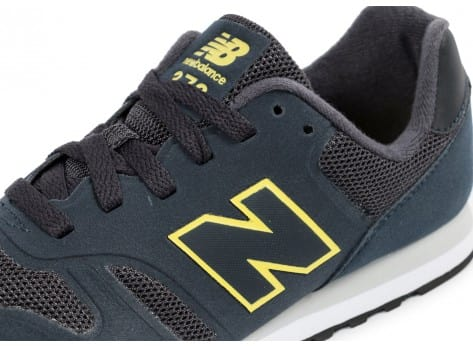 Chaussures New Balance MD373 NY bleu marine vue dessus
