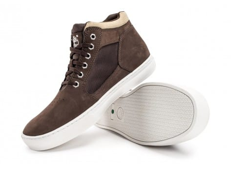 Chaussures Timberland Cupsole Merge 2.0 Marron vue avant