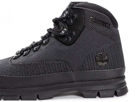 Chaussures Timberland Euro Hiker noire vue dessus
