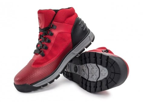 Chaussures Timberland Field Guide No Sew rouge vue avant