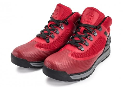 Chaussures Timberland Field Guide No Sew rouge vue intérieure