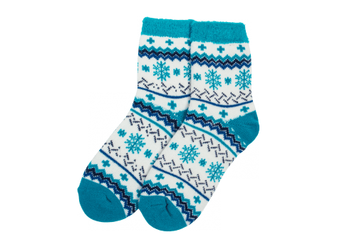 Chaussettes Yaktrax Chaussettes Aloe Cabin Turquoise