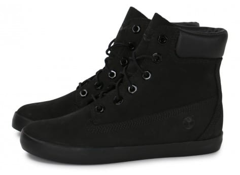 Chaussures Timberland Earthkeepers Glastenbury noire vue extérieure
