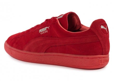Chaussures Puma Suede Classic Ref Iced red vue arrière
