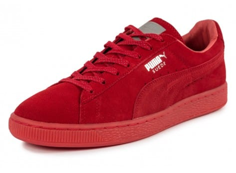 Chaussures Puma Suede Classic Ref Iced red vue avant