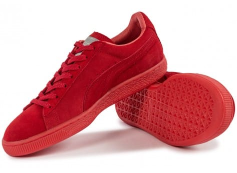 Chaussures Puma Suede Classic Ref Iced red vue intérieure