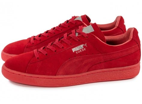 Chaussures Puma Suede Classic Ref Iced red vue extérieure