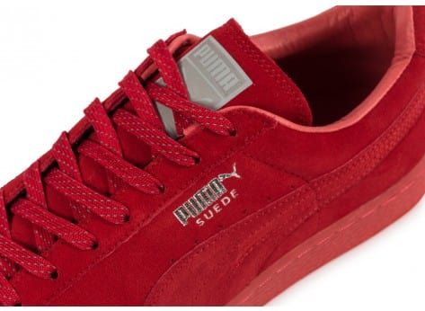 Chaussures Puma Suede Classic Ref Iced red vue dessus