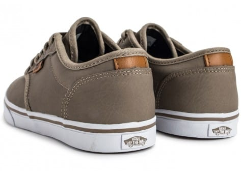 Chaussures Vans Atwood Deluxe beige vue dessous