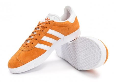 Chaussures adidas Gazelle orange vue avant