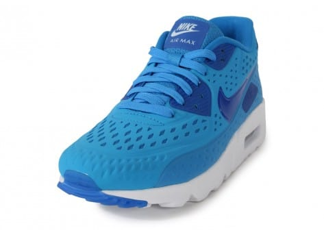 Chaussures Nike AIR MAX 90 ULTRA BR PHOTO BLUE vue avant