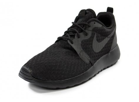 Chaussures Nike Roshe One Hyperfuse noire vue avant