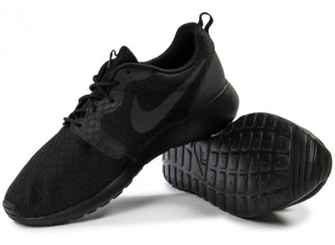 Chaussures Nike Roshe One Hyperfuse noire vue intérieure