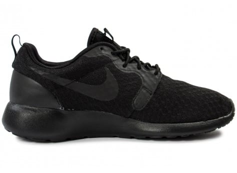 Chaussures Nike Roshe One Hyperfuse noire vue dessous