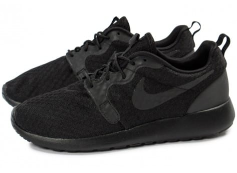 Chaussures Nike Roshe One Hyperfuse noire vue extérieure