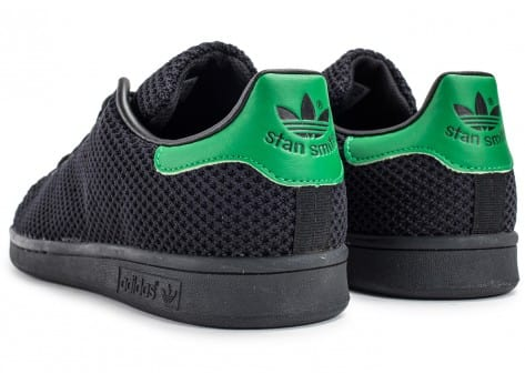 Chaussures adidas Stan Smith Circular-Knit noire vue dessous