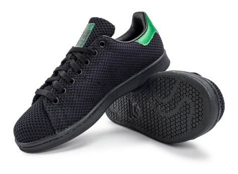 Chaussures adidas Stan Smith Circular-Knit noire vue avant