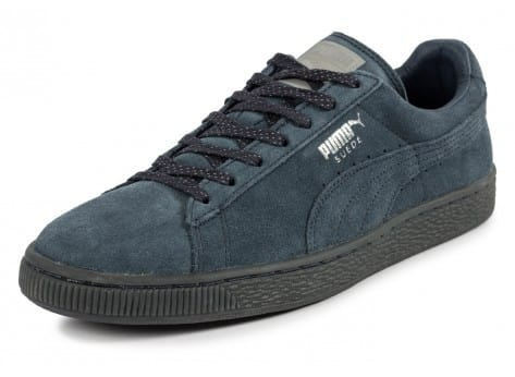 Chaussures Puma Suede Classic Ref Iced navy vue avant