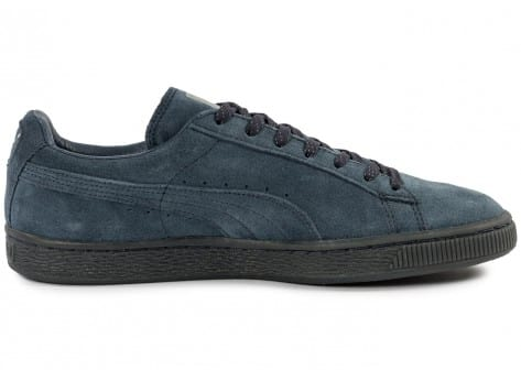 Chaussures Puma Suede Classic Ref Iced navy vue dessous