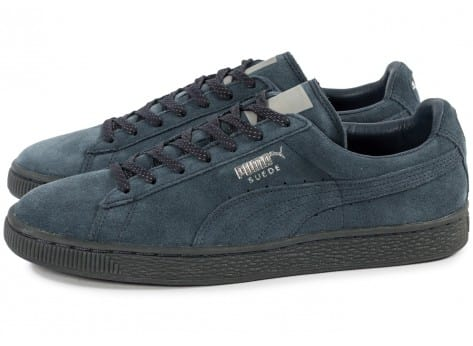Chaussures Puma Suede Classic Ref Iced navy vue extérieure