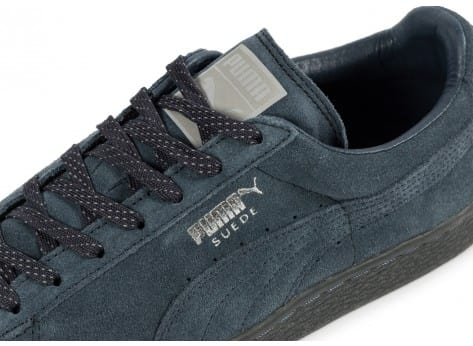 Chaussures Puma Suede Classic Ref Iced navy vue dessus