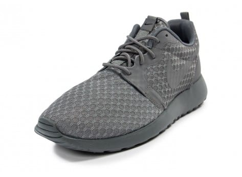 Chaussures Nike Roshe One Hyperfuse grise vue avant